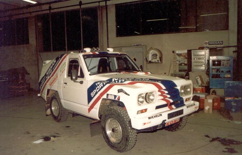 Nissan patrol 3 3 td dakar 86 et 87 de mon p re page 4 for Garage nissan marseille