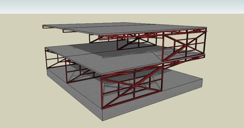 Estructuras metalicas para techos related keywords - Estructuras metalicas para casas ...