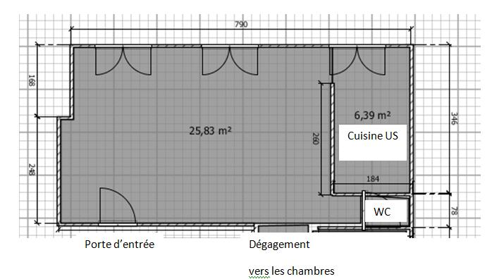 besoin d 39 aide am nagement pi ce vivre. Black Bedroom Furniture Sets. Home Design Ideas