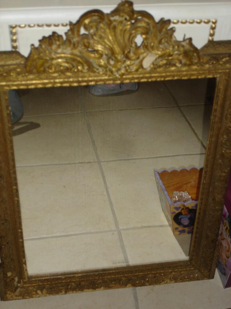 relooker r nover un vieux miroir. Black Bedroom Furniture Sets. Home Design Ideas